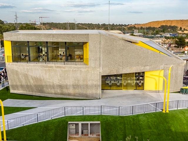 Muros de hormigón visto – Proyecto Lab-Nucía