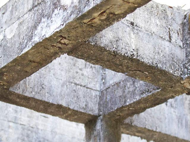 Estructura de hormigón abandonada - ¿Qué pasa con ella?